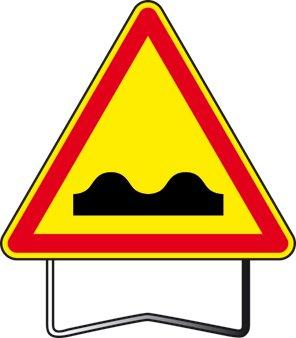 panneau de signalisation danger dos d 39 ne ak2 taliaplast. Black Bedroom Furniture Sets. Home Design Ideas