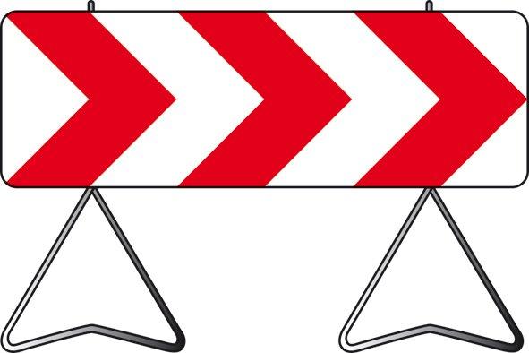 panneau de signalisation zone de chantier d but fin krenobat. Black Bedroom Furniture Sets. Home Design Ideas