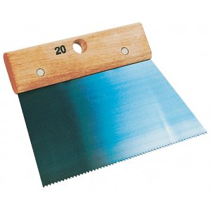peigne colle 20 cm denture isoc le 2 5 mm taliaplast krenobat. Black Bedroom Furniture Sets. Home Design Ideas