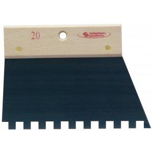 peigne colle 20 cm denture carr e 10 mm taliaplast krenobat outillage distribution. Black Bedroom Furniture Sets. Home Design Ideas