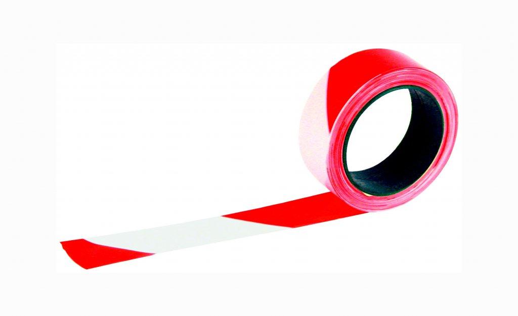 ruban rubaplast rubalise rouge blanc 75 mm x 100 m taliaplast. Black Bedroom Furniture Sets. Home Design Ideas