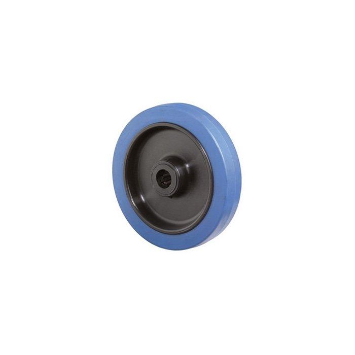 2edec5809b8daf Roue plastique bleue 200 48-165 pour chariot de manutention - TALIAPLAST