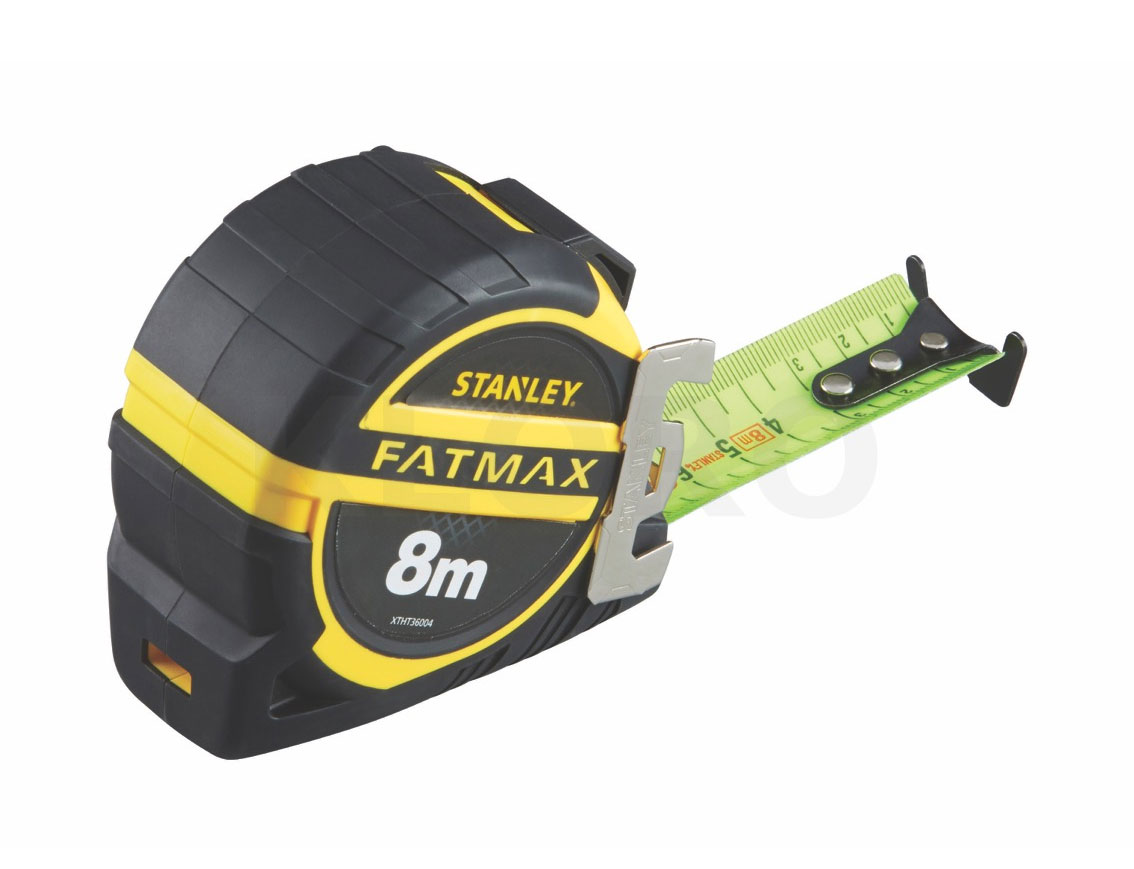 Mesure ruban fluorescent 8 m x 32 mm FatMax STANLEY