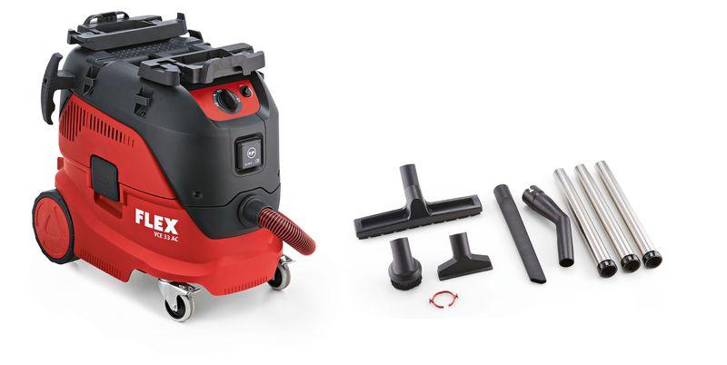 aspirateur eau poussi res 30 l vce 33 ac kit de nettoyage flex. Black Bedroom Furniture Sets. Home Design Ideas