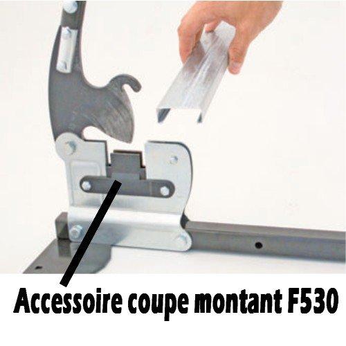 Guillotine Profilés Métalliques Rails 48 Mm Avec Accessoire Stud Cutter Edma