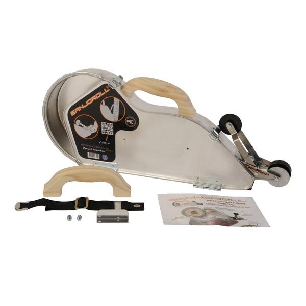 banjoroll banjo plaquiste aluminium roulette tekroll. Black Bedroom Furniture Sets. Home Design Ideas