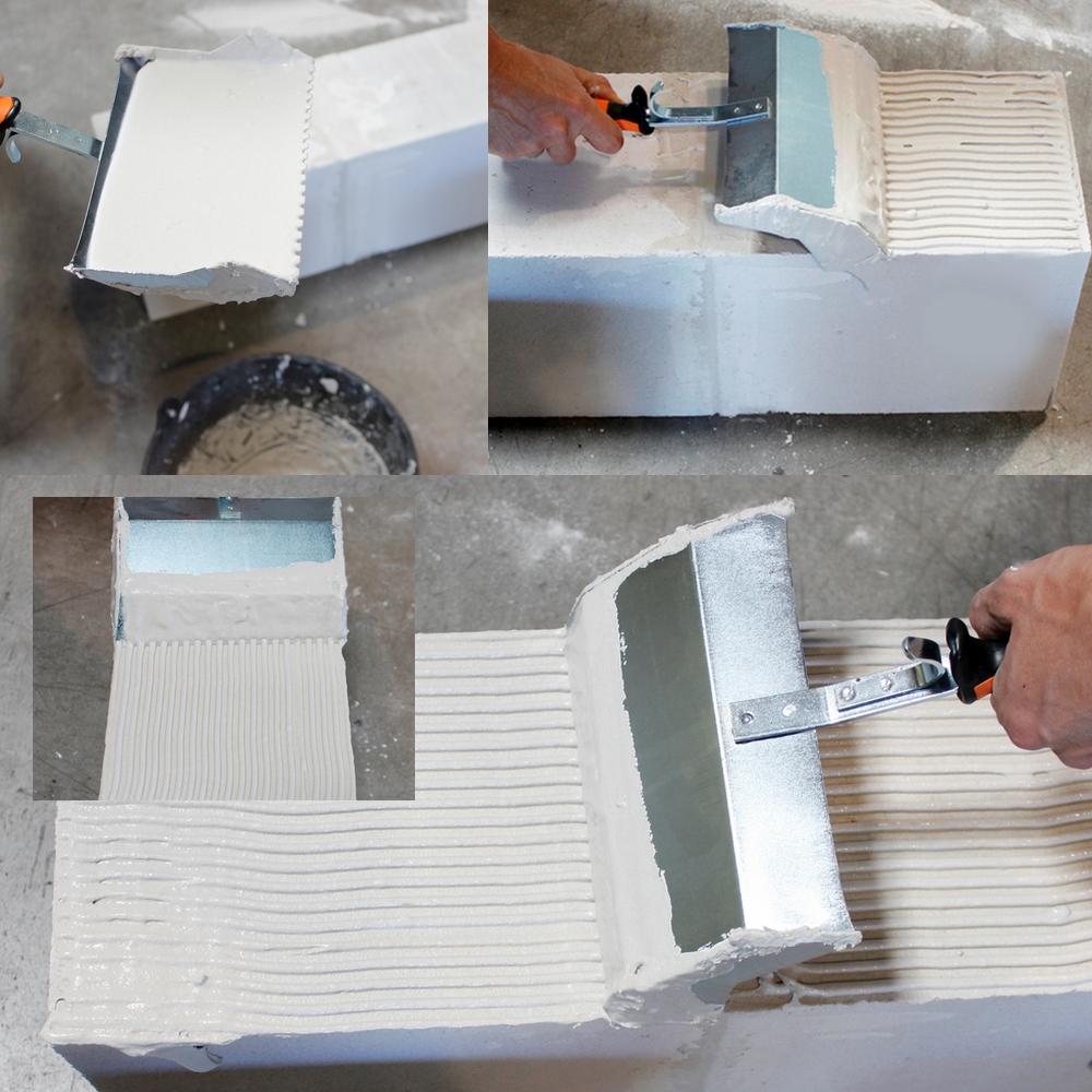 Enduit pour beton cellulaire elegant enduit sur beton cellulaire exterieur platelage de palette - Proportion pour faire du beton ...