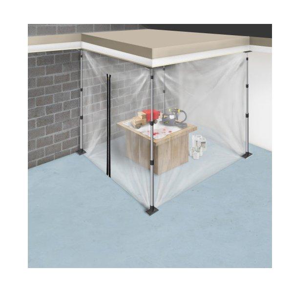 kit cloison amovible zip fartools krenobat. Black Bedroom Furniture Sets. Home Design Ideas