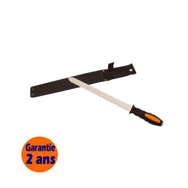 Couteau pour isolant laine de verre 300 mm edma krenobat for Laine de verre 300 mm isover
