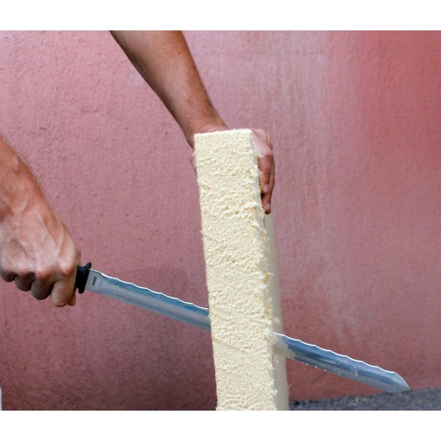 Couteau pour isolants laine de verre 420 mm edma krenobat for Laine de verre 320 mm