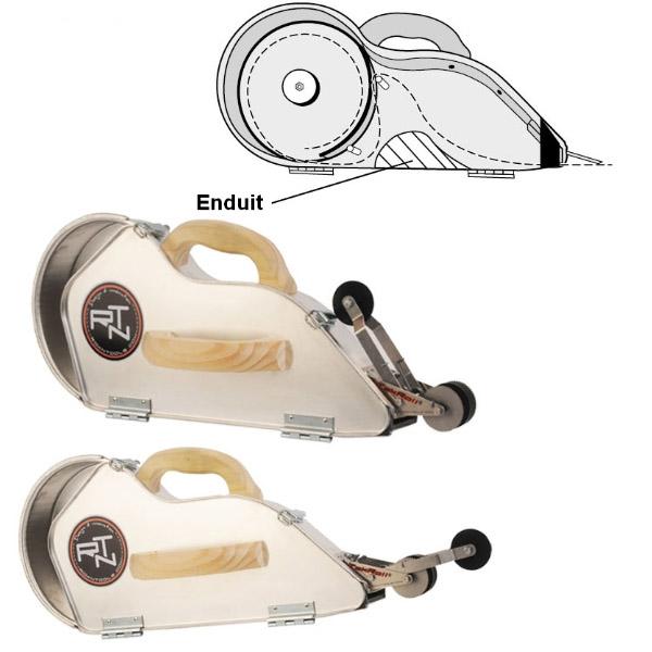 kit rouleur d 39 angle int rieur banjo aluminium et sa roulette banjoroll krenobat outillage. Black Bedroom Furniture Sets. Home Design Ideas