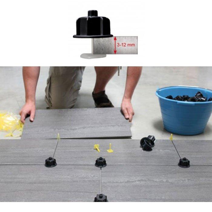 t te rotative r utilisable pour croisillon autonivelant 3 12 mm