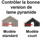 Lame pyramide LEVEL5 Modèle Standard