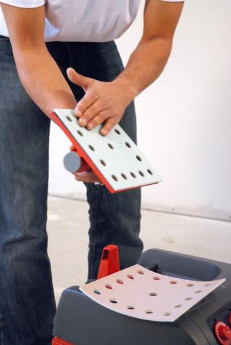 cale poncer plate aspirante manuelle ergoliss krenobat. Black Bedroom Furniture Sets. Home Design Ideas