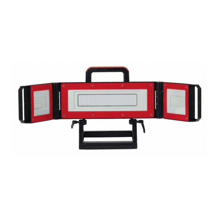 projecteur portable de chantier led 80w multi positions. Black Bedroom Furniture Sets. Home Design Ideas