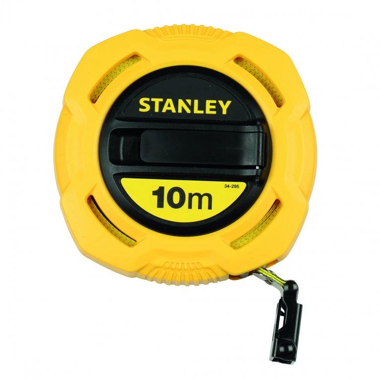 Décamètre avec ruban fibre de verre boitier semi fermé 10 m - Stanley