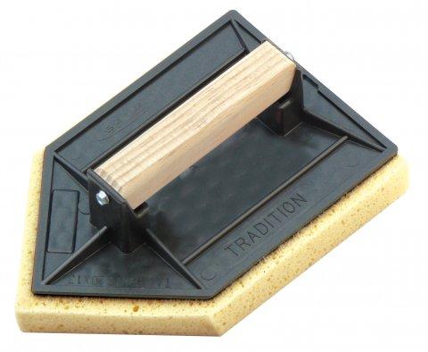 Taloche ponge plateau plastique pointue 20 x 13 cm for Peindre a l eponge