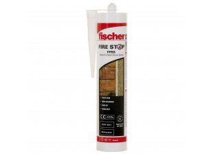 Mastic silicone coupe-feu FFRS blanc 310 ml - FISCHER