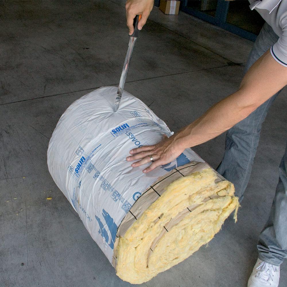 Couteau pour isolant laine de verre 300 mm edma krenobat for Prix laine de verre 300 mm