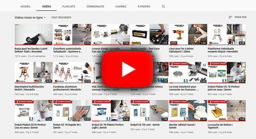 Démos sur notre chaine Youtube