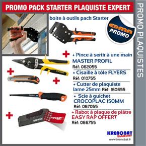 Pack starter plaquiste expert